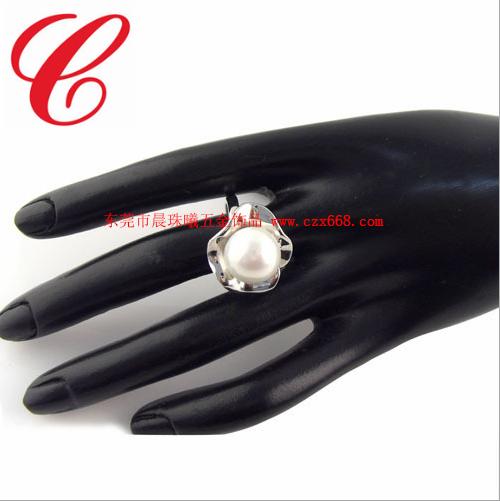 仿珍珠戒指-11