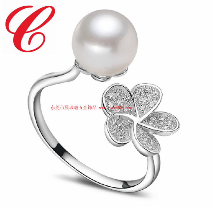 仿珍珠戒指-12