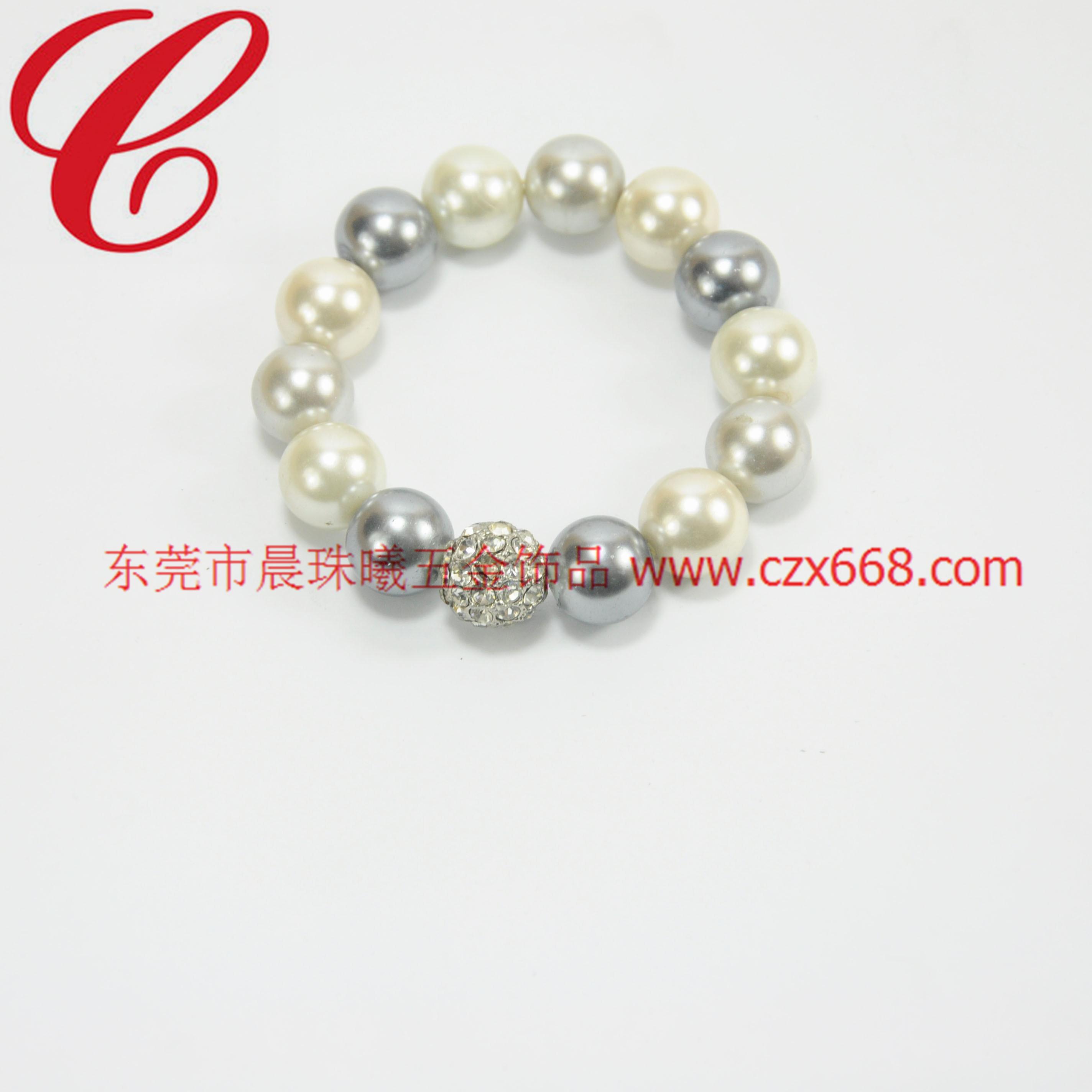 仿珍珠饰品手链-23