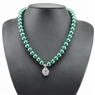 玻璃仿珍珠项链-01