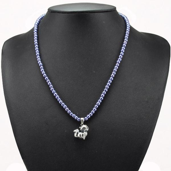 玻璃仿珍珠项链-09