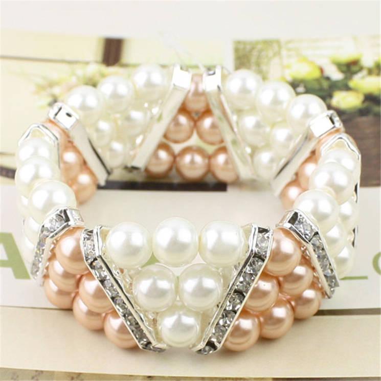 玻璃仿珍珠手链-04
