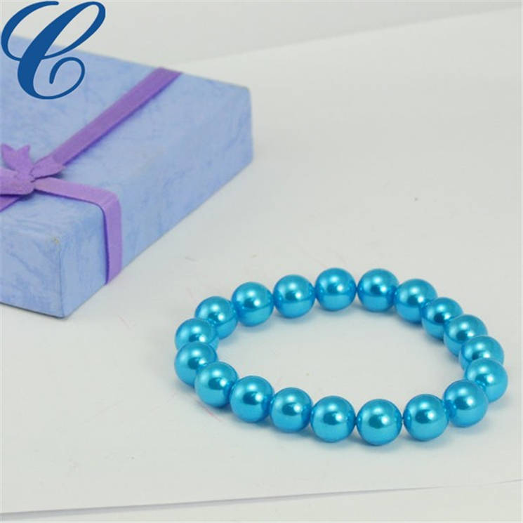 玻璃仿珍珠手链-07