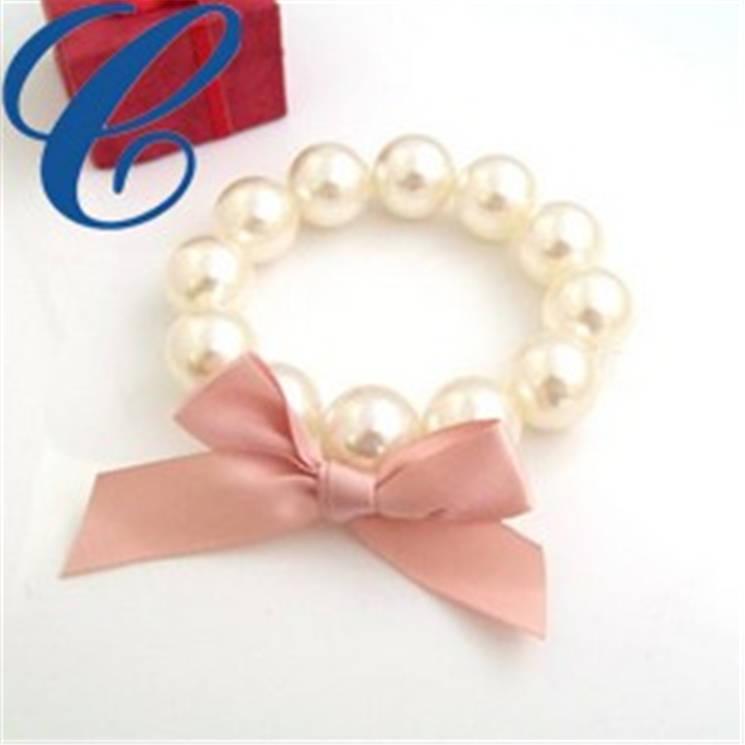 玻璃仿珍珠手链-09