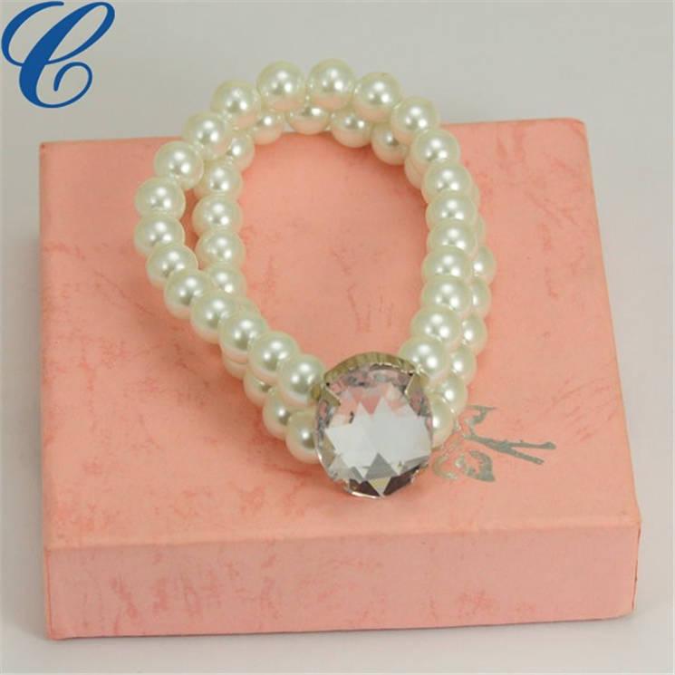 塑胶仿珍珠手链-02