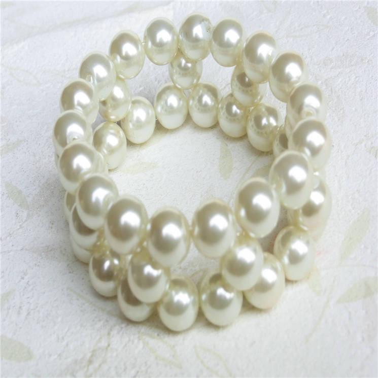 塑胶仿珍珠手链-04