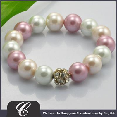 新款珍珠手链仿珍珠饰品
