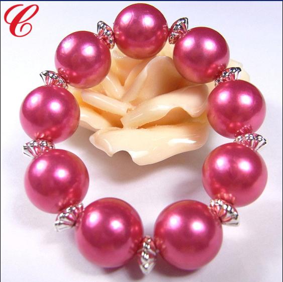 仿珍珠饰品手链-02