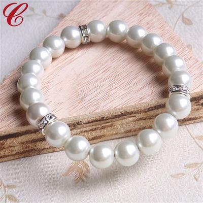 仿珍珠饰品手链-11