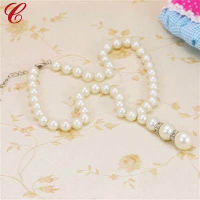 仿珍珠饰品项链-02