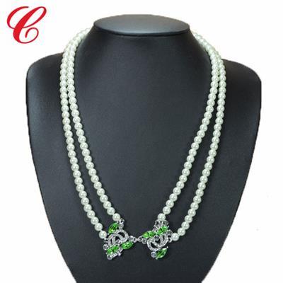 仿珍珠饰品项链-07