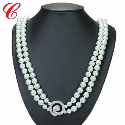 仿珍珠饰品项链-08