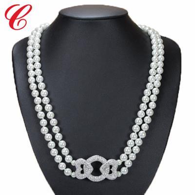 仿珍珠饰品项链-10