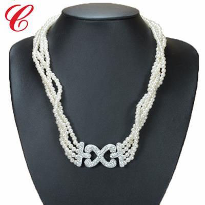 仿珍珠饰品项链-11