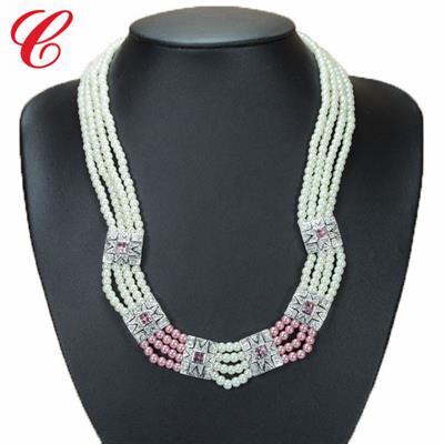 仿珍珠饰品项链-12