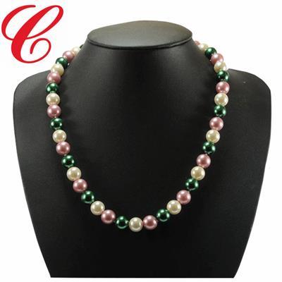 仿珍珠饰品项链-13