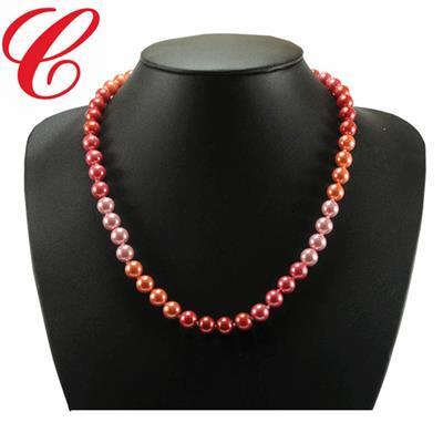 仿珍珠饰品项链-14