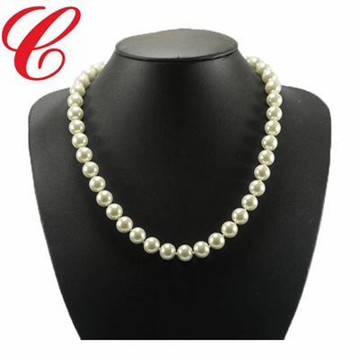 仿珍珠饰品项链-16