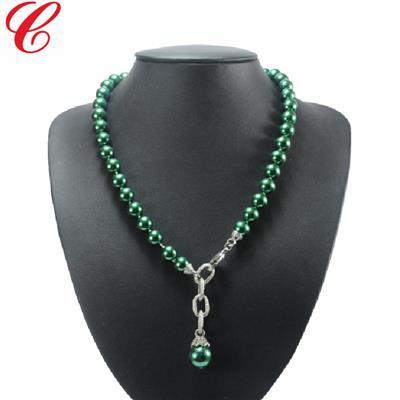 仿珍珠饰品项链-17
