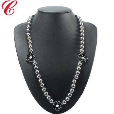 仿珍珠饰品项链-18