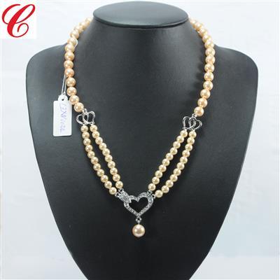 仿珍珠饰品项链-19