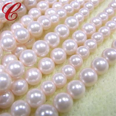 玻璃仿珍珠圆形珠-10