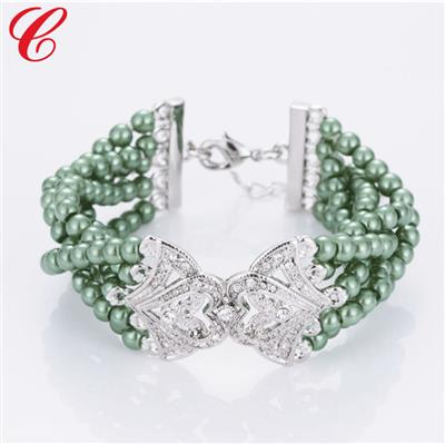 仿珍珠饰品手链-06