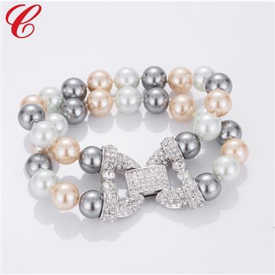 仿珍珠饰品手链-09