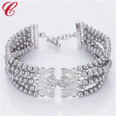仿珍珠饰品手链-10