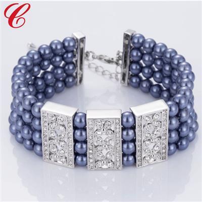 仿珍珠饰品手链-12