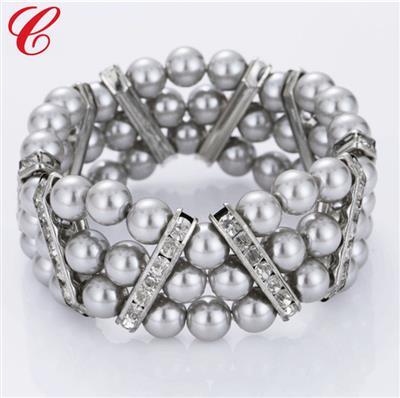 仿珍珠饰品手链-13