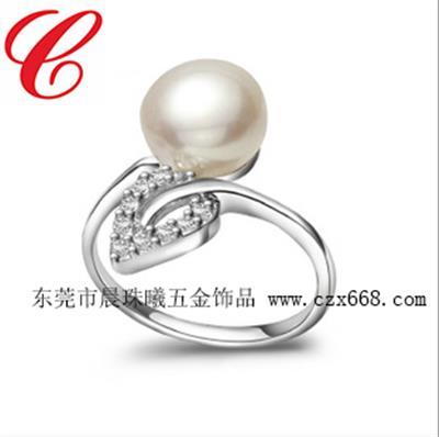仿珍珠戒指-10