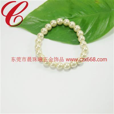 仿珍珠饰品手链-18