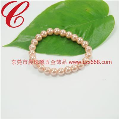 仿珍珠饰品手链-19
