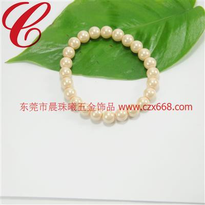 仿珍珠饰品手链-20