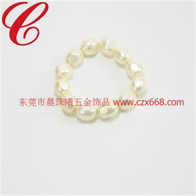 仿珍珠饰品手链-25
