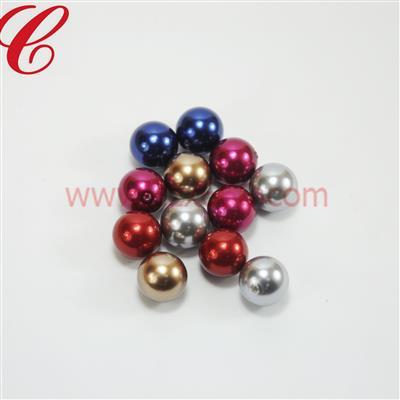 塑胶仿珍珠圆形珠-14