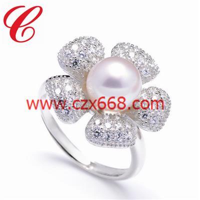 仿珍珠戒指-13
