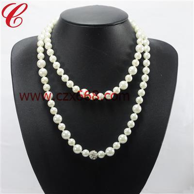 仿珍珠饰品项链-20
