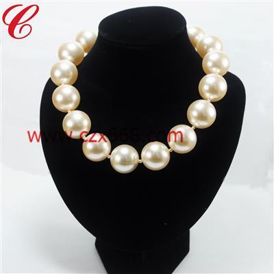 仿珍珠饰品项链-21