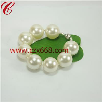 仿珍珠饰品手链-27