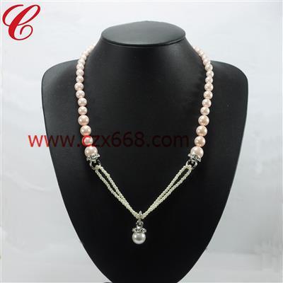 仿珍珠饰品项链-23