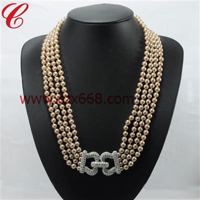 仿珍珠饰品项链-24