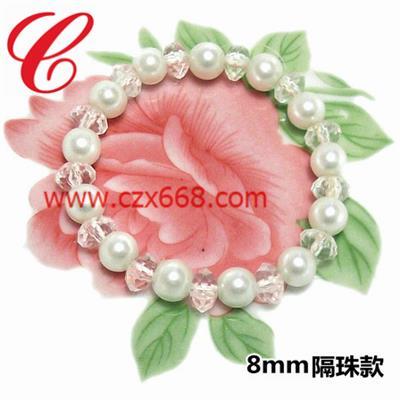 仿珍珠饰品手链-29