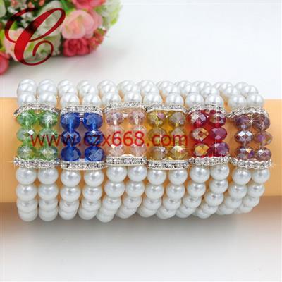 仿珍珠饰品手链-30