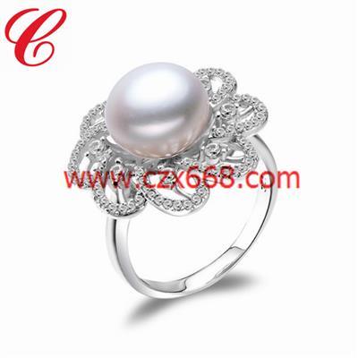 仿珍珠戒指-17