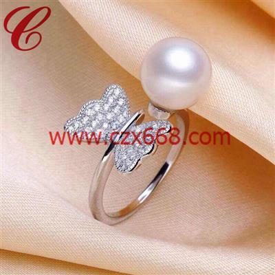 仿珍珠戒指-18
