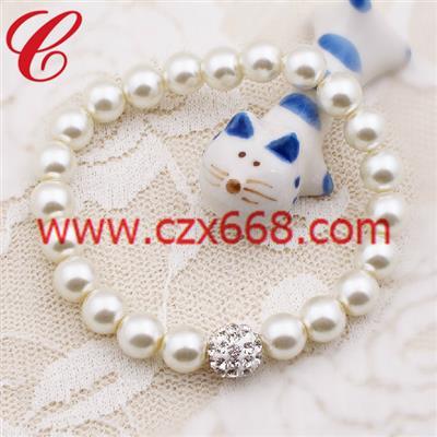 仿珍珠饰品手链-34