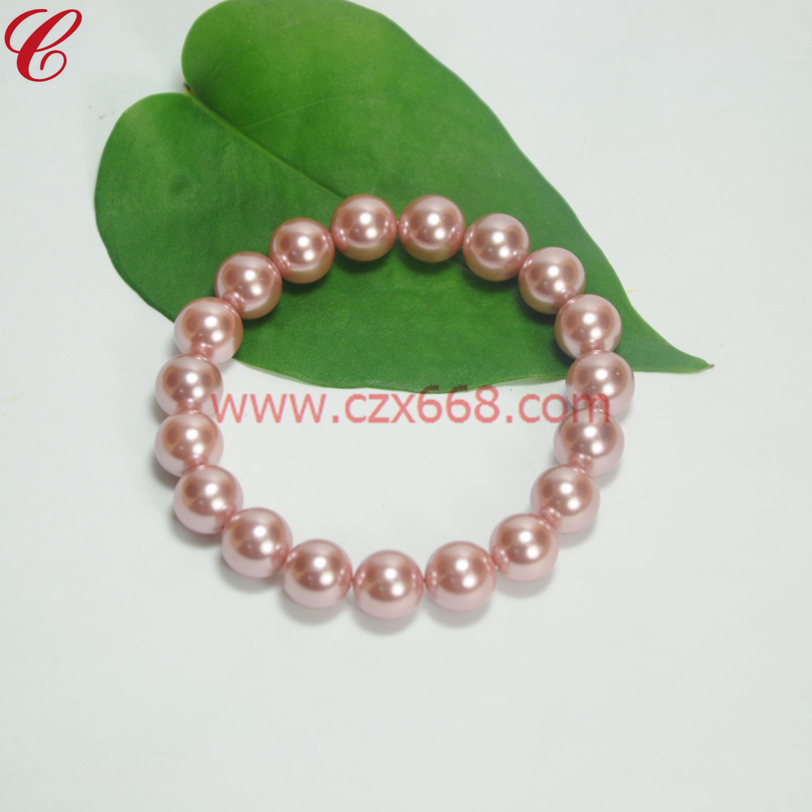 仿珍珠饰品手链-35