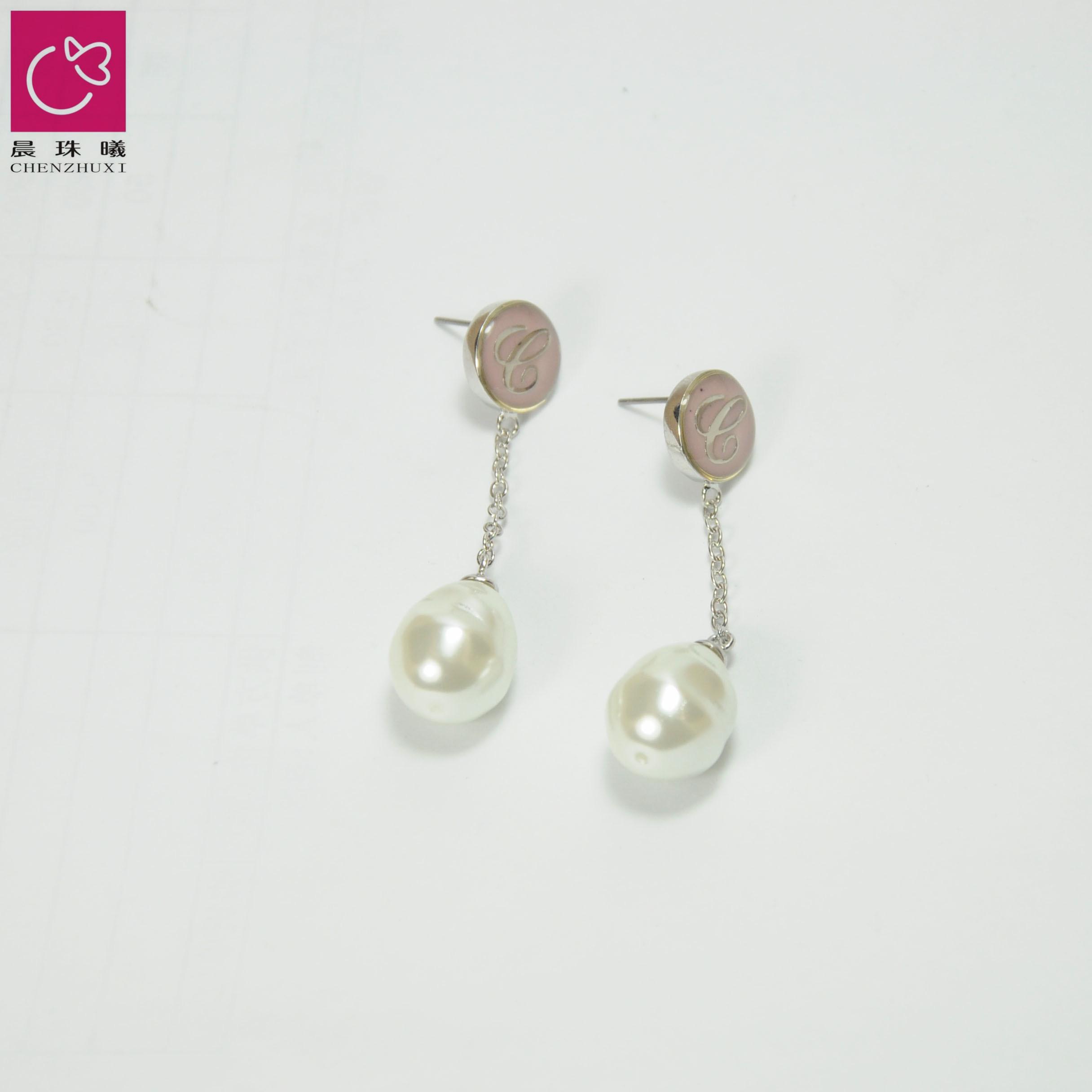 仿珍珠耳环-33